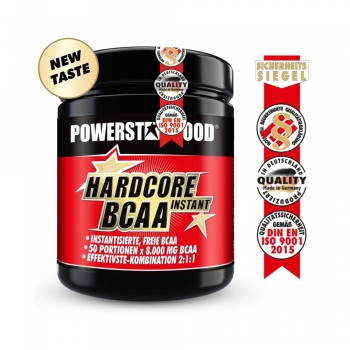HARDCORE BCAA INSTANT - BCAA Pulver - 500 g